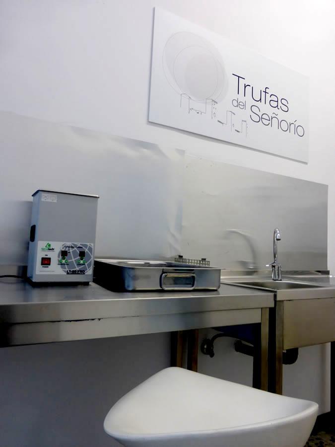Trufas del Señorio pionero en la utilización de ultrasonidos para limpieza de la trufa