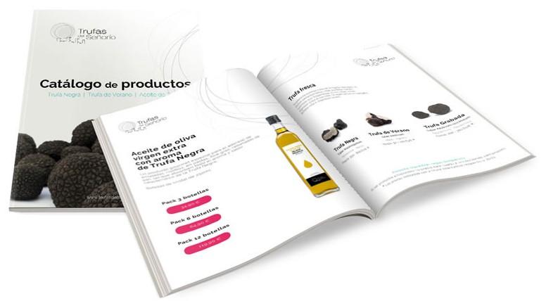 Catálogo de productos de Trufas del Señorío
