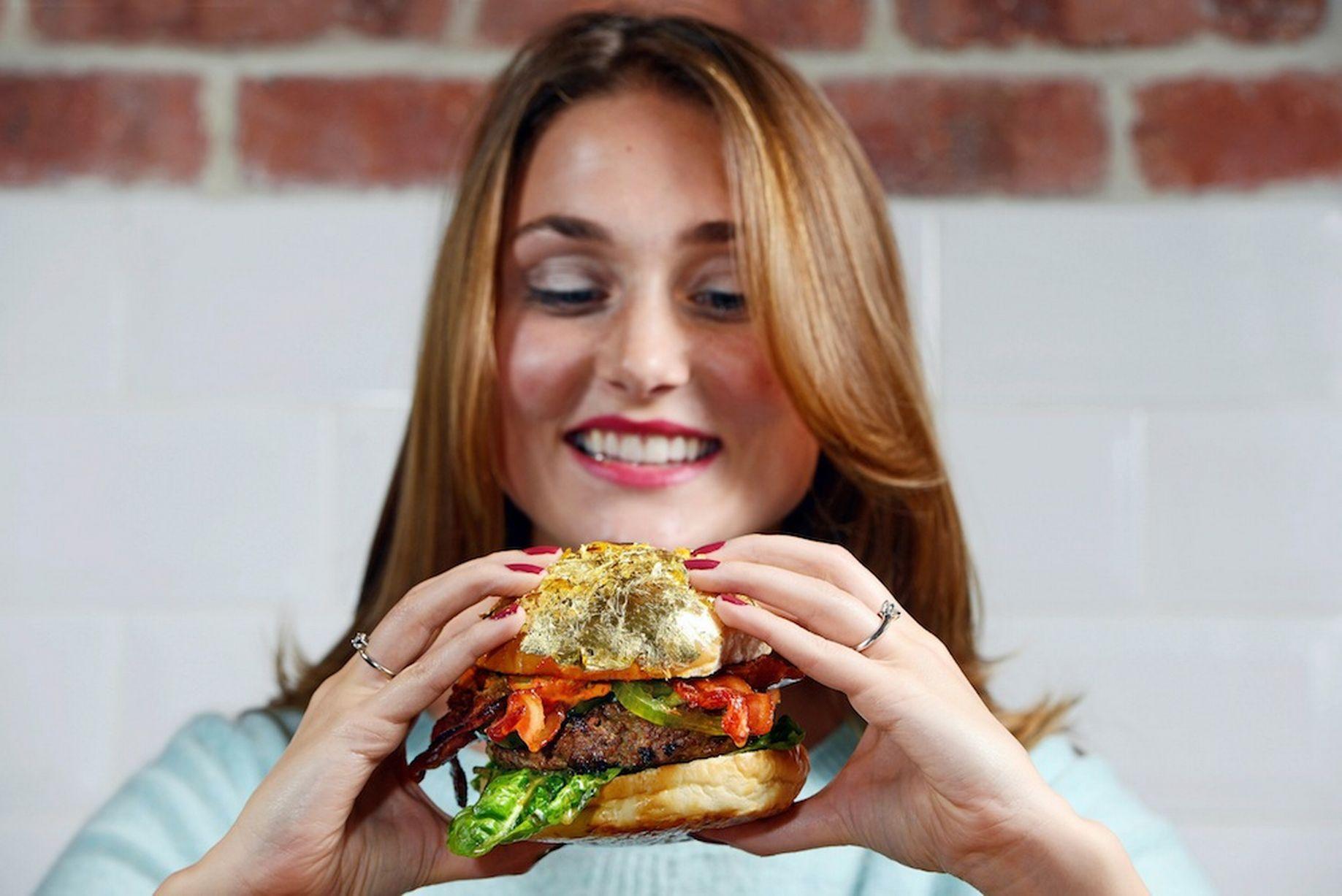 hamburguesa más cara del mundo, con trufa