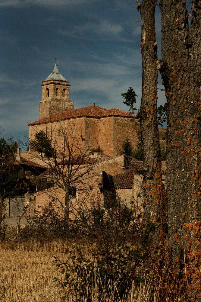 Cillas. Iglesia. Guadalajara. Señorio Molina de Aragón. Trufa Negra fresca