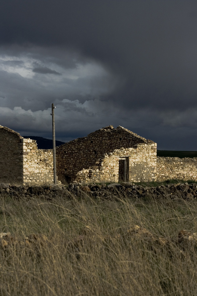 Cillas Cochera derruida. Señorio Molina de Aragón. Trufa Negra fresca