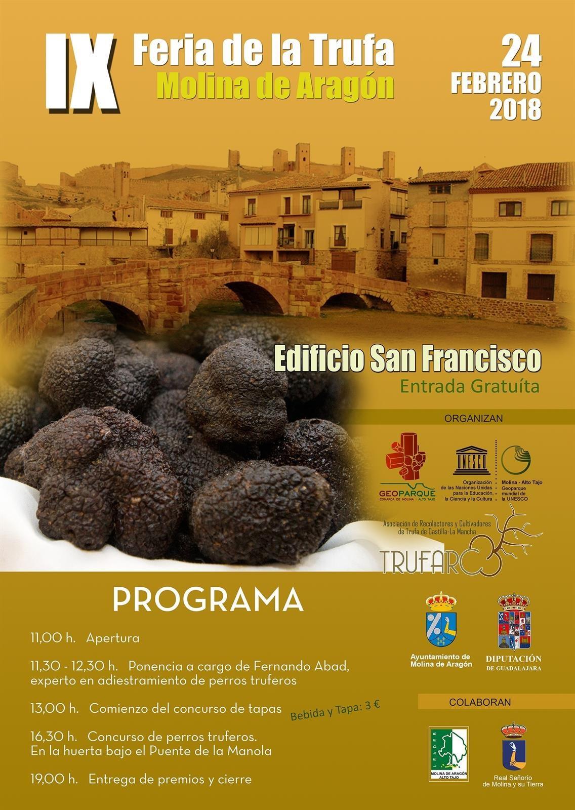 IX Feria de la trufa negra en Molina de Aragón